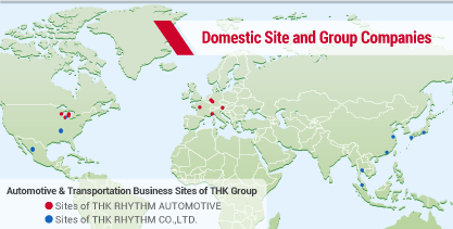 Domestic Site and Group Companies